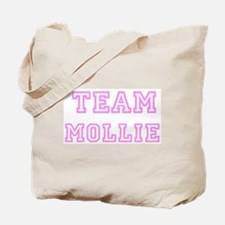 Pink team Mollie Tote Bag
