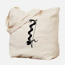 Capoeira berimbau snake Tote Bag