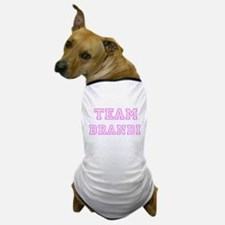 Pink team Brandi Dog T-Shirt