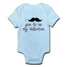 I Mustache You To Be My Valentine Infant Bodysuit