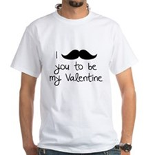 I Mustache You To Be My Valentine Shirt