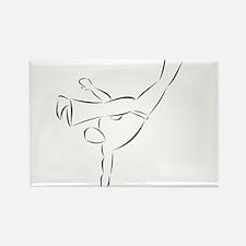 Capoeira- Au Batido Rectangle Magnet