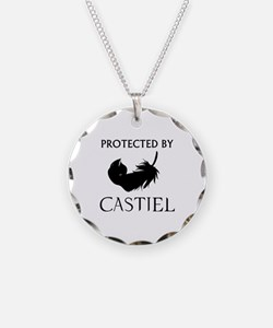 Protected By Castiel Necklace
