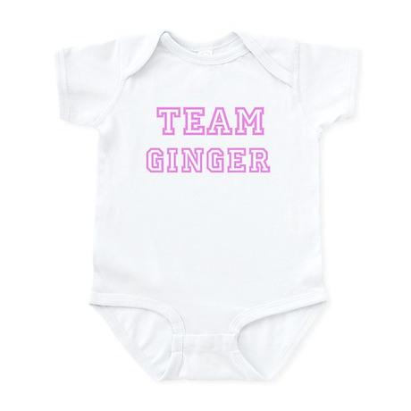 Pink team Ginger Infant Bodysuit
