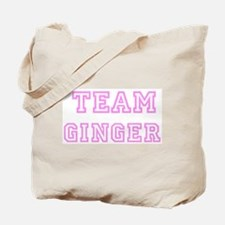Pink team Ginger Tote Bag