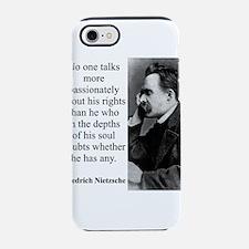 No One Talks More Passionately - Nietzsche iPhone