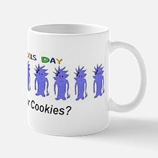 April Fools Day Cookies Mug