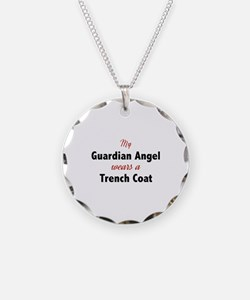 Guardian Angel Trench Coat Necklace