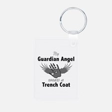 Guardian Angel Trench Coat Keychains