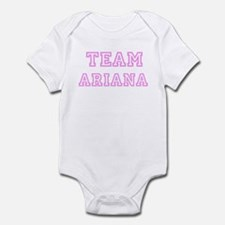Pink team Ariana Infant Bodysuit