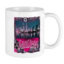 sandiego art illustration Mug