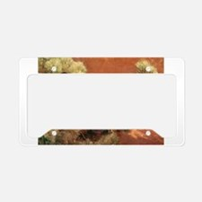Hooded Crows in Pine Tree License Plate Holder