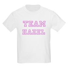 Pink team Hazel Kids T-Shirt