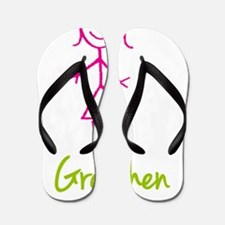 Gretchen-cute-stick-girl.png Flip Flops