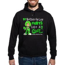 Fights Like a Girl 42.9 Lymphoma Hoodie