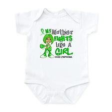 Fights Like a Girl 42.9 Lymphoma Infant Bodysuit