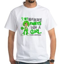 Fights Like a Girl 42.9 Lymphoma Shirt