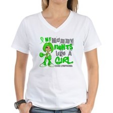 Fights Like a Girl 42.9 Lymphoma Shirt
