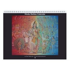 Hindu Calendar (13 paintings)