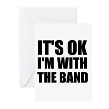 Its Ok im with the band Greeting Cards (Pk of 20)