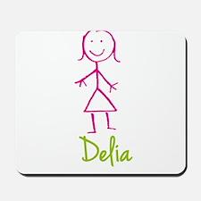 Delia-cute-stick-girl.png Mousepad