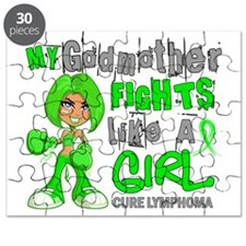 Fights Like a Girl 42.9 Lymphoma Puzzle