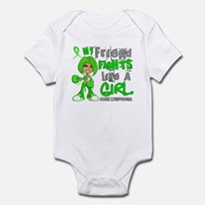 Fights Like a Girl 42.9 Lymphoma Infant Bodysuit