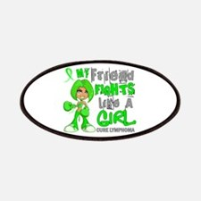 Fights Like a Girl 42.9 Lymphoma Patches