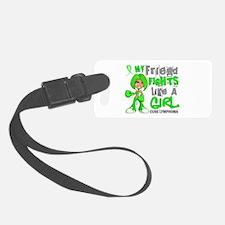 Fights Like a Girl 42.9 Lymphoma Luggage Tag