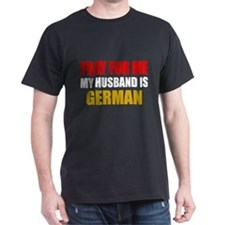 Pray Husband German T-Shirt