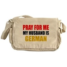 Pray Husband German Messenger Bag