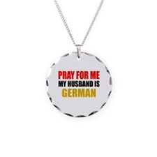 Pray Husband German Necklace