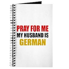 Pray Husband German Journal