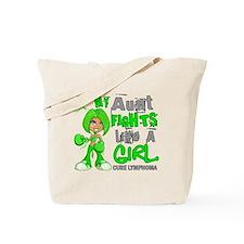 Fights Like a Girl 42.9 Lymphoma Tote Bag