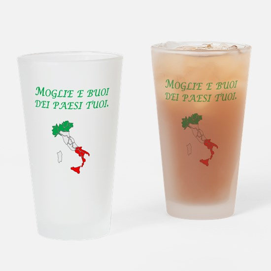 Italian Proverb Marry A Woman Drinking Glass