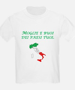 Italian Proverb Marry A Woman T-Shirt