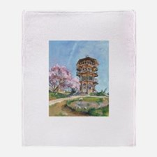 Patterson Park Pagoda Throw Blanket