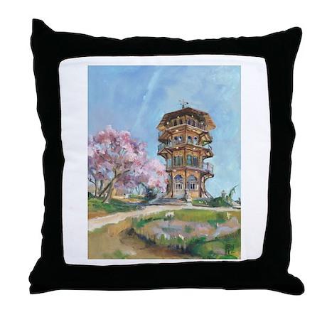 Patterson Park Pagoda Throw Pillow