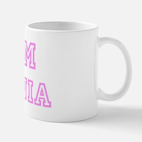 Pink team Antonia Mug