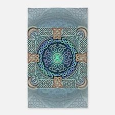 Celtic Eye of the World 3'x5' Area Rug