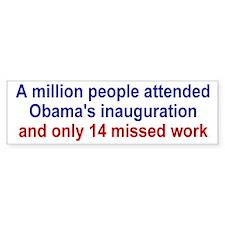 Obama's Inauguration Truth Bumper Sticker