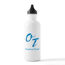 OT, blue Sports Water Bottle