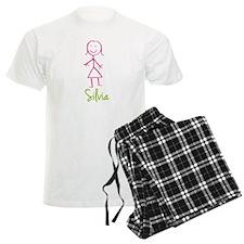 Silvia-cute-stick-girl.png Pajamas