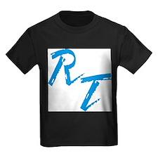 RT, blue T