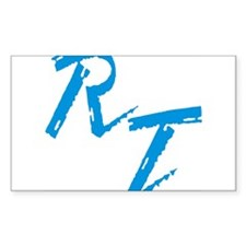 RT, blue Decal