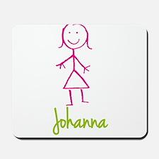 Johanna-cute-stick-girl.png Mousepad