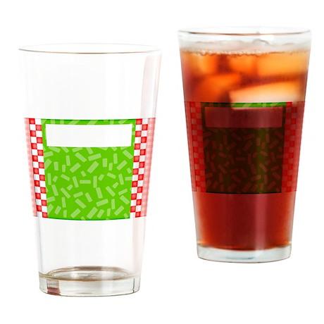 Picnic Plaid Drinking Glass