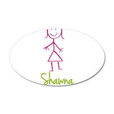Shawna-cute-stick-girl.png Wall Decal