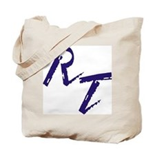 RT, purple Tote Bag