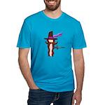 Baconeteer Men's Fitted T-Shirt (dark)